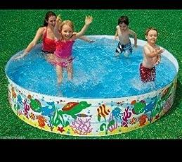 Snap Set Baby Pool Bath Water Tub for Kids, 1.52m x 25cm