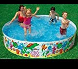 #8: Snap Set Baby Pool Bath Water Tub for Kids - 5ft x 10 inch (1.52m x 25cm)