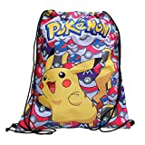 POKÈMON Pokemon - Pikachu - Sportbeutel Turnbeutel Sportsack Rucksackbeutel Schwimmbeutel Gym Bag