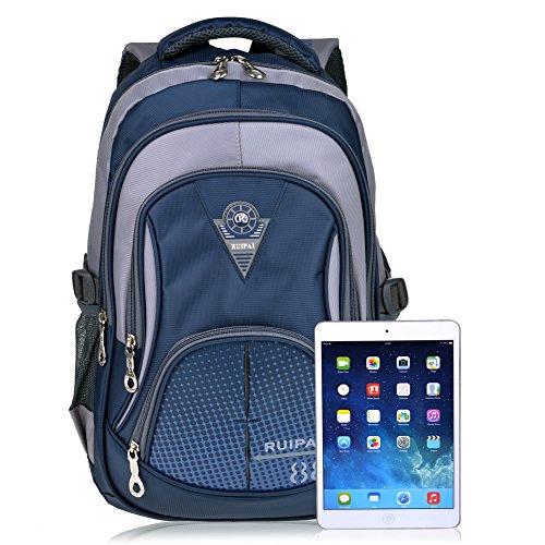 Imagen de vbiger niños  bolsa viaje  escuela con correas ajustables azul oscuro  alternativa