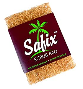 SAFIX Natural Kitchen Scrub Pad