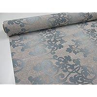 Confección Saymi Metraje tejido loneta estampada Ref. Damasco Grand Gris, con ancho 2,80 mts. (2,45x2,80m)