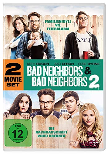Bad Neighbors 1&2 [2 DVDs]