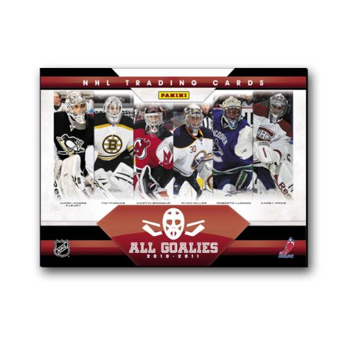 Panini 2010/11 All-Goalies Hockey Hobby Box (Set) NHL