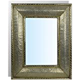 Miroir oriental - Miroir argent martele ...