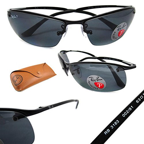 METAL UNISEX NEW AUTHENTIC RAY BAN LIFESTYLE RB3183-002-81 100%UV SONNENBRILLE AUS ITALIEN ...