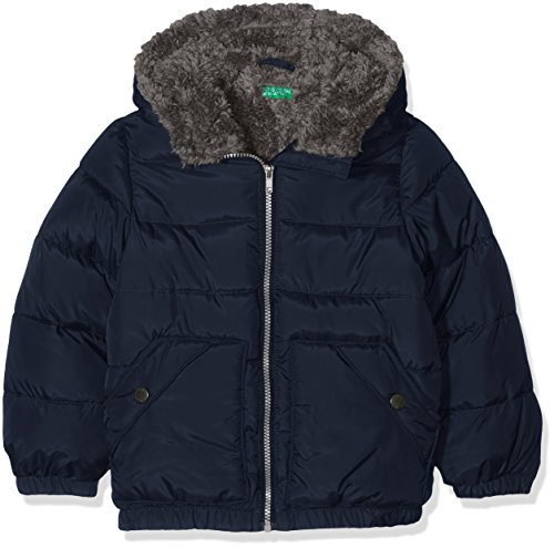 united-colors-of-benetton-2dyj5-blouson-garon-bleu-navy-18-24-mois-taille-fabricant-2y