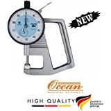 Ocean PRECISION DIAL THICKNESS GAUGE, RANGE 0 TO 10MM, LEAST COUNT 0.01MM