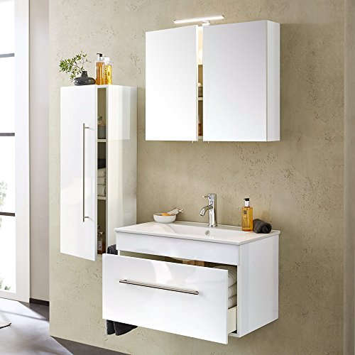 Emotion Set Complet 75cm Blanc Brillant