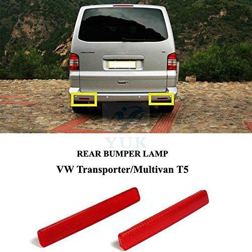 YUK Reflektorlampe für Heckstoßstange, für VW Transporter T5 MK V 03-09