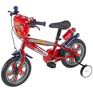 """Disney 17190 - 12"""" Bicicletta Cars 3 per bambini da 2 - 4 anni"""