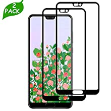 LQLY P20 Pro Screen Protector (2 Pack), [High Sensitive] [Case Friendly] [Anti-scratch] [Ultra Clear] Tempered Glass for Huawei P20 Pro