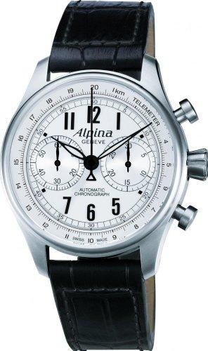 Alpina Geneve Startimer Classics Automatic Chronograph AL-860SCP4S6 Orologio da uomo sportivo Rotore Alpina