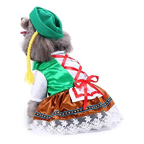 Hund Kostüm Tragen - Amakunft Oktoberfest Sweety Haustier Anzug mit