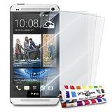 MUZZANO FPR-88-214-NNNN Displayschutzfolie, HTC One, Durchsichtig
