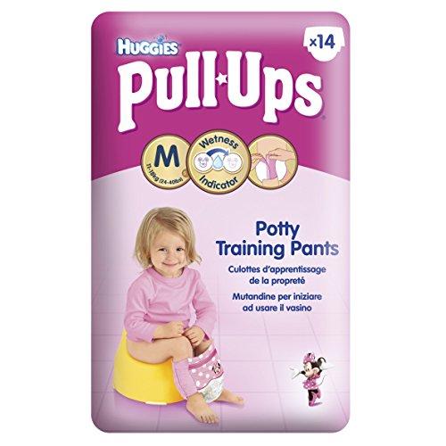 Huggies Pull-Ups Disney Princess Design Size 5 (11-18kg /24-40lbs) Nappies - 6 x Packs of 14 (84 Pants)