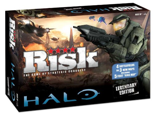 Preisvergleich Produktbild Risk: Halo Legendary Edition: Risk: Halo Legendary Edition