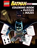 LEGO BATMAN THE MOVIE Coloring Book: Great Activity Book for Kids with Mazes and Puzzles