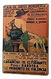 Blechschild Fernweh Stadt Valencia