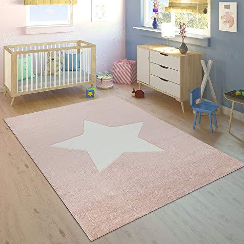 Paco Home Alfombra Habitación Infantil Niña Moderna