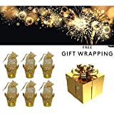 Majik Diwali Gifts For Staff Members, Diwali Gifts For Family And Friends, Diwali Gift In Bulk, Basket With Handle For Chocolates, Dry Fruits And Other Sweets, Best Gift Item, Set Of 6, Pack Of 1