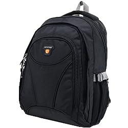 Laptop Rucksack Schulrucksack bis A4 Wanderrucksack Freizeitrucksack Outdoor schwarz
