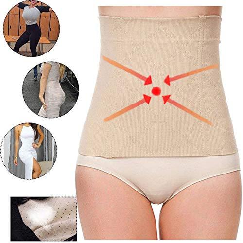 Guilty Gadgets ® Body Shaper unsichtbar Tummy Trimmer Taille Drahtreifen Girdle Korsett Abnehmen Gürtel, groß