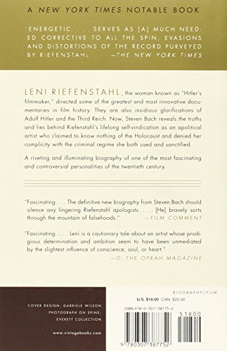Leni: The Life and Work of Leni Riefenstahl (Vintage)