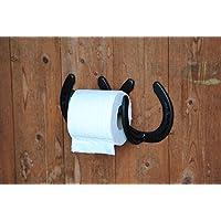 Horseshoe Toilet Roll Holder