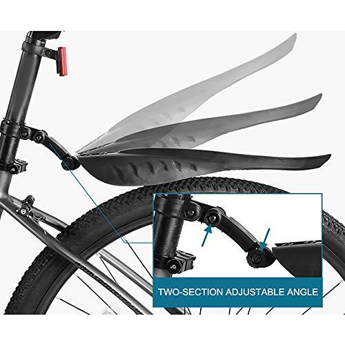 Papamsy Mountain Bike Road Bike Wheel Tire Reifen vorne hinten Regenwasser Schutzblech Fender Set
