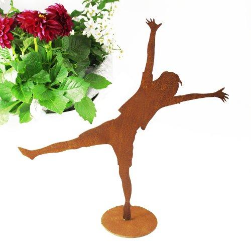 SAREMO Rost JOY Figur Annika, auf Platte, ca. H 36 cm