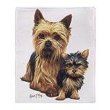 Best Yorkie Beds - CafePress - Yorkie Terrier Pup - Soft Fleece Review