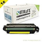 1x MWT Remanufactured Toner für HP Color LaserJet CP 3525 X DN N ersetzt CE252A