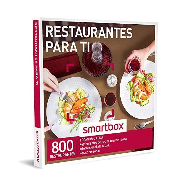 caja regalo smartbox restaurantes para ti