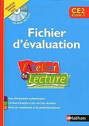 L'Atelier de lecture CE2 : Fichier d'évaluation (1Cédérom)