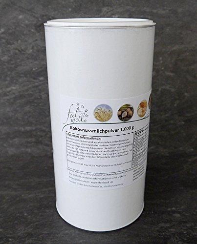 Kokosmilchpulver 1 kg Kokosnuss-Milch getrocknet Thai-Food Asia-Food (Kokosmilch Joghurt)