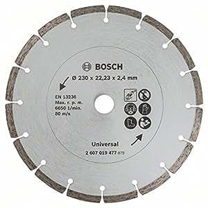 Bosch 2607019477 Disque diamant pour Meuleuse maçonnerie 230 mm
