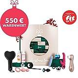 EIS Deluxe erotischer Adventskalender für Paare 2019, 24 sinnliche Sex Geschenke inkl. Satisfyer, Erotik Advent Kalender Warenwert 550 €