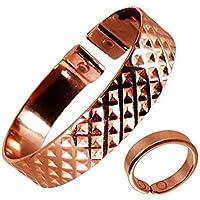 The Online Bazaar Stilvoll gekerbter quadrate-design Kupfer magnetisch Band mit glatte Oberfläche magnetisch KUPFER... preisvergleich bei billige-tabletten.eu