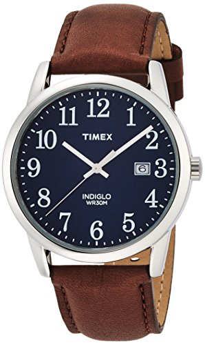 timex-mens-quartz-watch-with-blue-dial-analogue-display-and-brown-leather-strap-tw2p75900