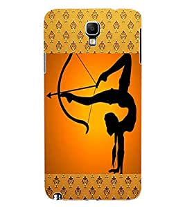 ColourCraft The Archer Design Back Case Cover for SAMSUNG GALAXY NOTE 3 NEO DUOS N7502