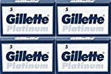 20 Cuchillas de afeitar Gillette Platinum