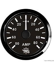 Ampèremètre avec shunt 80 A noir/noir