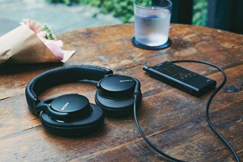 Sony MDR-1AM2 Kopfhörer (High Resolution Audio, Beat Response Control, ultraleichtes Design, inkl. wei hochwertiger Audiokabel) schwarz - 8