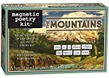 Die Berge - Kühlschrankmagnet Set - Kühlschrank Poesie