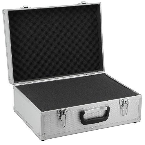 AR Carry Box Alukoffer Werkzeugkoffer Aluminium Koffer leer (LxBxH) 450x320x175mm Farbe Alu/Silber