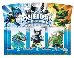 Skylanders: Spyro's Adventure - Triple Character Pack - Hex, Zap and Dinorang (Wii/PS3/Xbox 360/PC)
