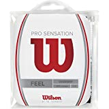 Wilson Overgrip Pro Sensation 12er, Schwarz, 0076260154100000
