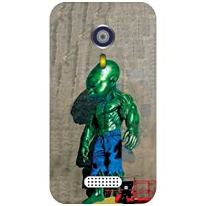 Micromax A116 Canvas HD - Painted Man Matte Finish Phone Cover