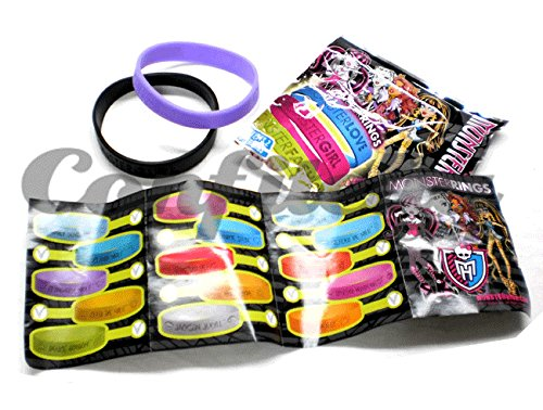 Panini - 80 Bracelets Monster High